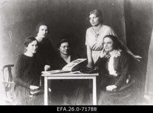 Eesti Naisliidu juhatus 1920-22