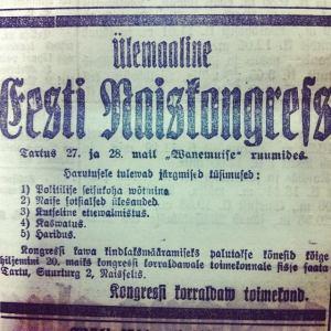 Postimees neljapäeval 18.mail.1917.a1